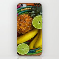 Banana Pineapple Lime iPhone & iPod Skin
