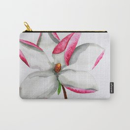 Watercolour Magnolia Carry-All Pouch