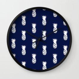 Indigo Coast Wall Clock