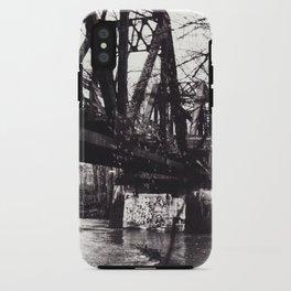 Stencil under the Bridge iPhone Case