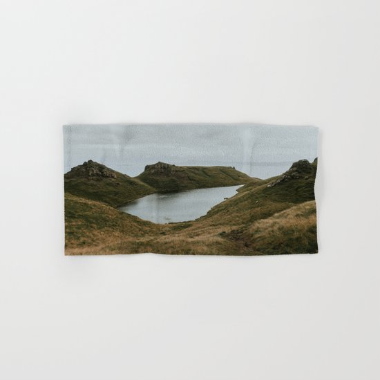 Skye Lake - Landscape Photography Hand & Bath Towel