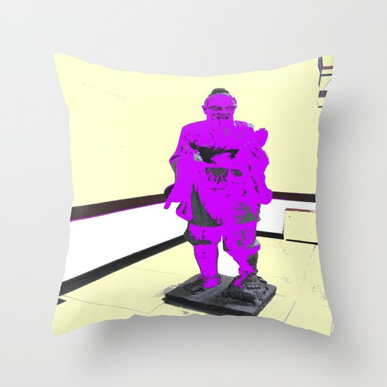 Wise Old Man Throw Pillow