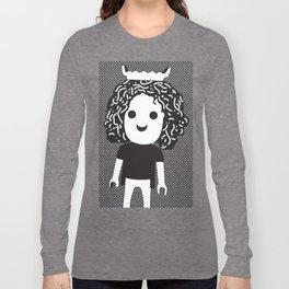 Humanoid stories #happy Long Sleeve T-shirt
