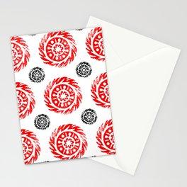 Sun mandala pattern Stationery Cards