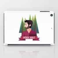derek hale iPad Cases featuring DEREK HALE - FORREST by UniversoAlternativo