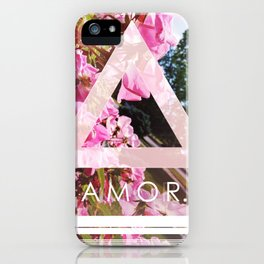Floral Amor. iPhone Case