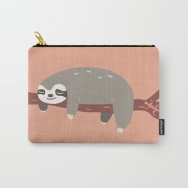 Sloth card - come hang with me Carry-All Pouch