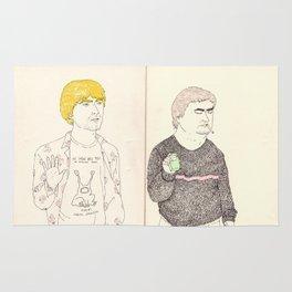 cobain and johnston Rug