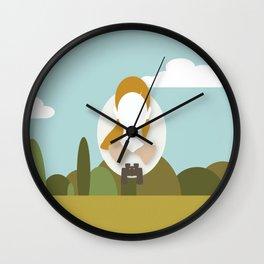 Moonrise Kingdom - Suzy Bishop (Kara Hayward) Wall Clock