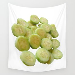 Cucumber Quarters Wall Tapestry