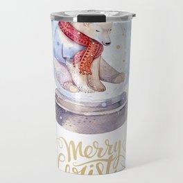 Christmas bear #1 Travel Mug