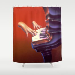 Piano Lessons Can Be Murder Shower Curtain