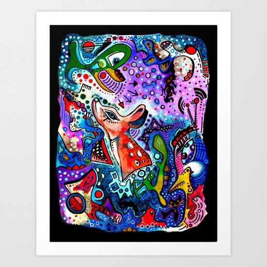 """Communicate"" Art Print"