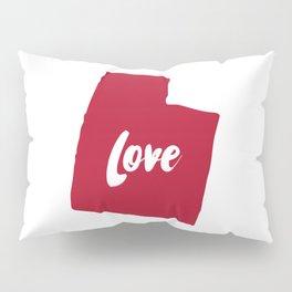 Utah Love Pillow Sham
