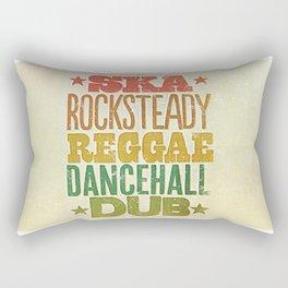 Shades of Reggae Rectangular Pillow