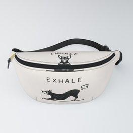Inhale Exhale Pinscher Fanny Pack