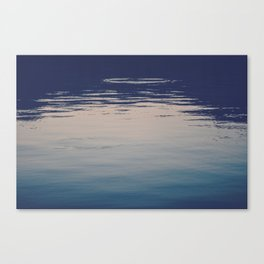 Ombre Lake Ripples Canvas Print