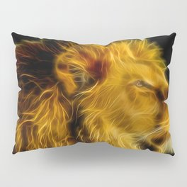 glowing lion  Pillow Sham