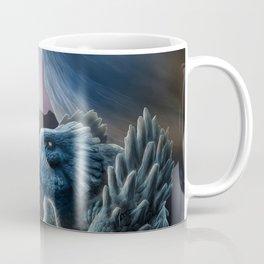 The sorceress and the dragon Coffee Mug