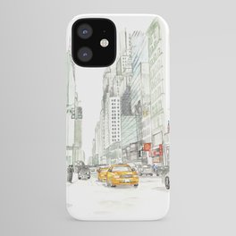 New York City Taxi iPhone Case