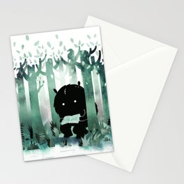 A Quiet Spot (in green) Stationery Cards