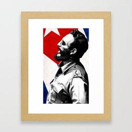 Fidel Castro Framed Art Print