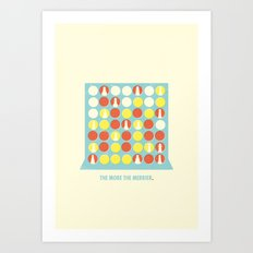 The More The Merrier Art Print