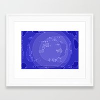 agate Framed Art Prints featuring Agate by Audrey Erickson