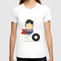 super hero T-shirts featuring My Super hero! by Juliana Rojas | Puchu