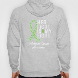 Adrenal Cancer, Adrenocortical Carcinoma, ACC, Awareness Hoody