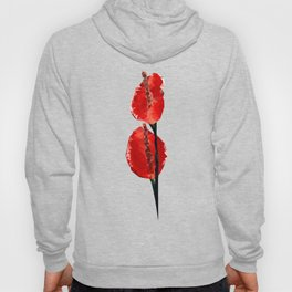Meshed Up Anthurium Hoody