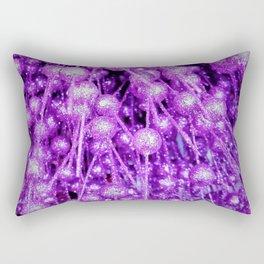 purple brocade balls Rectangular Pillow