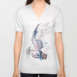 Like soaring through the heavens  Unisex V-Neck