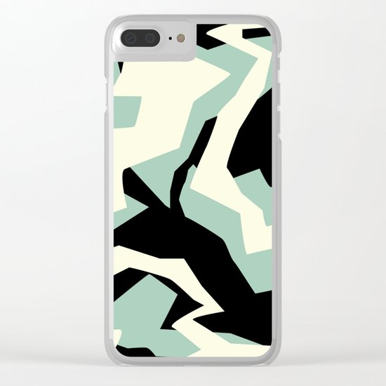 Camouflage:RAW Clear iPhone Case