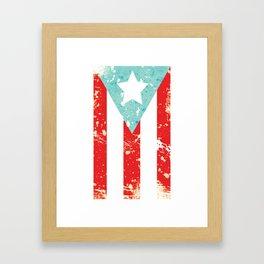 Mi Bandera Framed Art Print