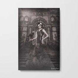 Dark Victorian Portrait Series: The First Wife Metal Print