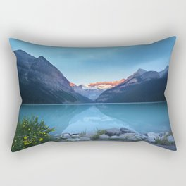 Mountains lake Rectangular Pillow