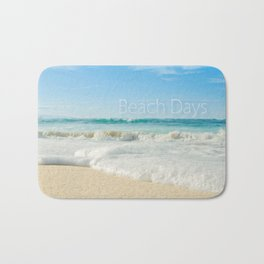 beach days Bath Mat