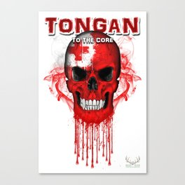 To The Core Collection: Tonga Canvas Print