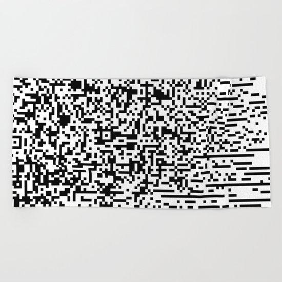 QR-antine V 0.1 Beach Towel