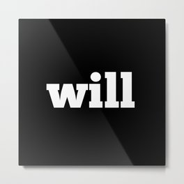 WS Metal Print