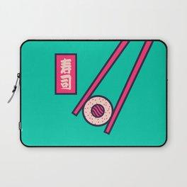 Sushi Minimal Japanese Food Chopsticks - Mint Laptop Sleeve