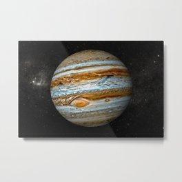 Planet Jupiter Deep Space Probe Telescopic Photograph Metal Print