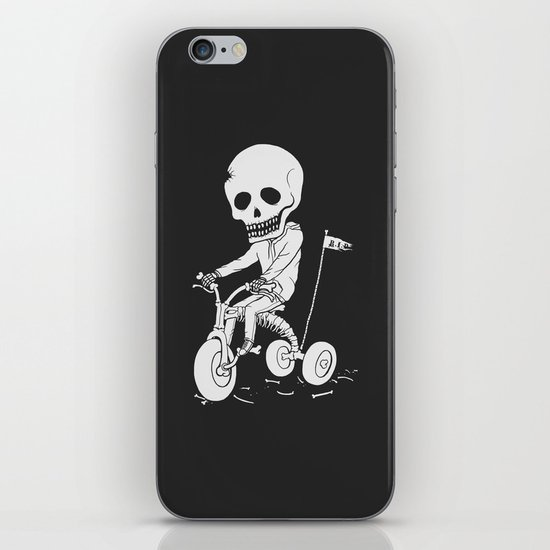 Death Kid Bone Ride iPhone & iPod Skin