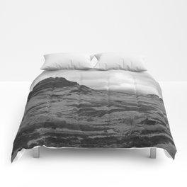 Scottish Highlands Glencoe Black & White Comforters