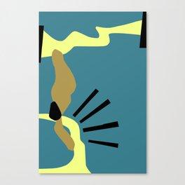 Composición Nro 32 Canvas Print