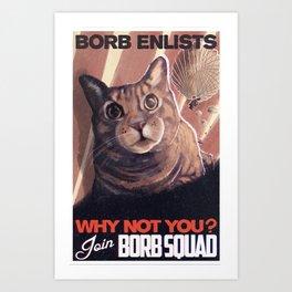 Borb Squad Art Print