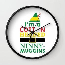 Cotton Headed NinnyMuggins Wall Clock