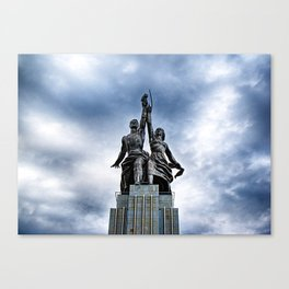 Worker and Kolkhoz Woman (Moscow 2013) Canvas Print
