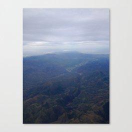 Ridges. Canvas Print